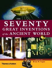 Cover of: The Seventy Great Inventions of the Ancient World