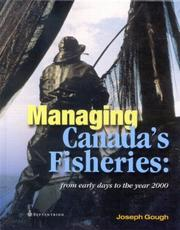 Cover of: Managing Canada's fisheries