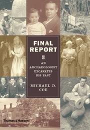Cover of: Final Report: An Archaeologist Excavates His Past