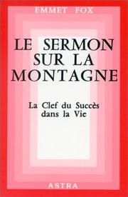 Cover of: Le Sermon sur la montagne
