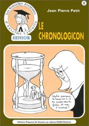 Cover of: Le chronologicon