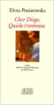 Cover of: Cher Diego, Quiela t'embrasse