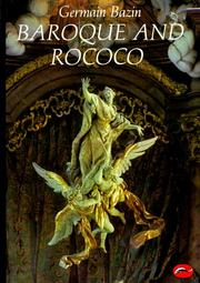 Cover of: Baroque and Rococo