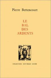 Cover of: Le bal des ardents