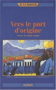 Cover of: Vers le port d'origine