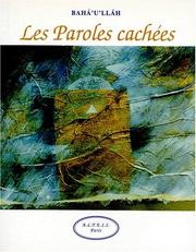 Cover of: Les paroles cachées
