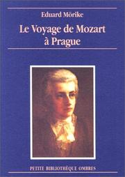 Cover of: Le Voyage de Mozart à Prague