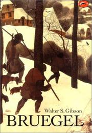 Cover of: Bruegel (World of Art) | Walter S. Gibson