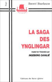 Cover of: La Saga des Ynglingar