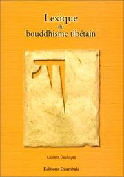 Cover of: Lexique du bouddhisme tibétain