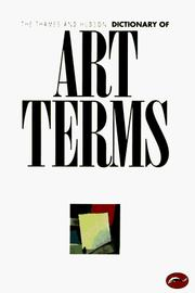 Cover of: Thames & Hudson Dictionary of Art Terms