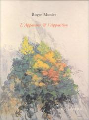 Cover of: L'Apparence et l'apparition