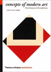 Cover of: Concepts of modern art |