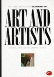 Cover of: The Thames and Hudson dictionary of art and artists |