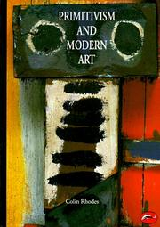 Cover of: Primitivism and modern art
