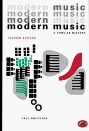 Cover of: Modern music