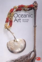 Cover of: Oceanic art | Thomas, Nicholas