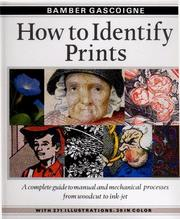 Cover of: How to identify prints
