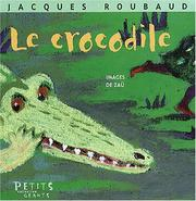 Cover of: Le crocodile