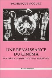 Cover of: Une renaissance du cinema
