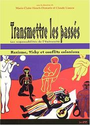 Cover of: Transmettre les pass©♭s