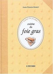 Cover of: Cuisine du foie gras