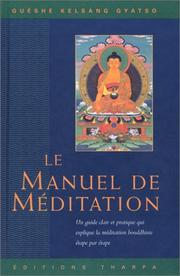 Cover of: Manuel de méditation