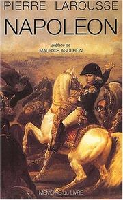 Cover of: Napoléon