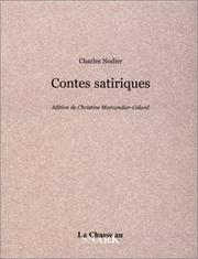 Cover of: Contes Satiriques | Charles Nodier