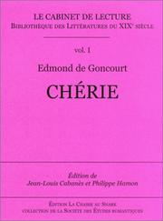 Cover of: Chérie