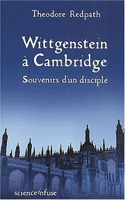 Cover of: Wittgenstein a cambridge