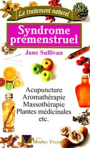 Cover of: Syndrome prémenstruel