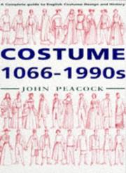 Cover of: Costume, 1066-1990s