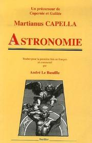 Cover of: Astronomie
