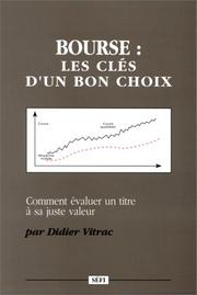 Cover of: Bourse