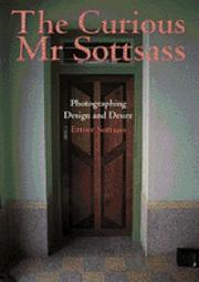 Cover of: The curious Mr Sottsass | Sottsass, Ettore