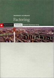 Cover of: Factoring