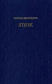 Cover of: Ethik