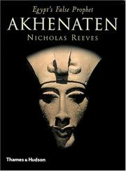 Cover of: Akhenaten