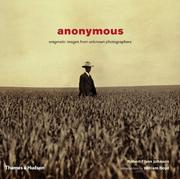 Cover of: Anonymous