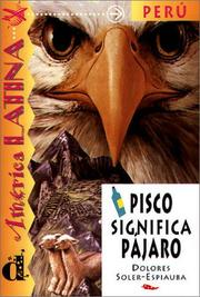 Cover of: Pisco significa pajaro.