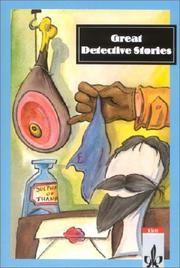 Cover of: Great Detective Stories