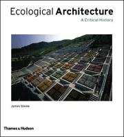 Cover of: Ecological Architecture: a critical history