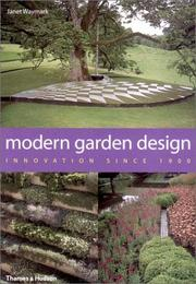 Cover of: Modern garden design | Janet Waymark