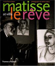 Cover of: Matisse at Villa Le Rêve 1943-1948