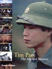 Cover of: mindful moment | Page, Tim