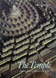 Cover of: The Temple | John M. Lundquist