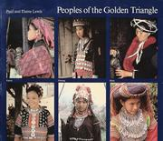 Cover of: Peoples of the Golden Triangle