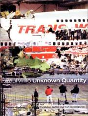 Cover of: Unknown quantity