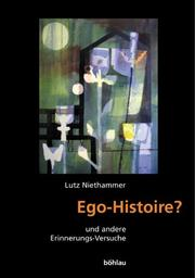 Cover of: Ego-Histoire?